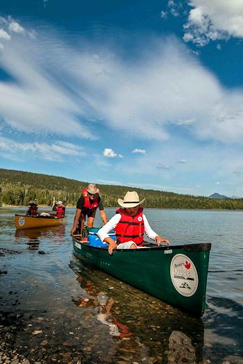 Bowron Lake Canoe Rentals